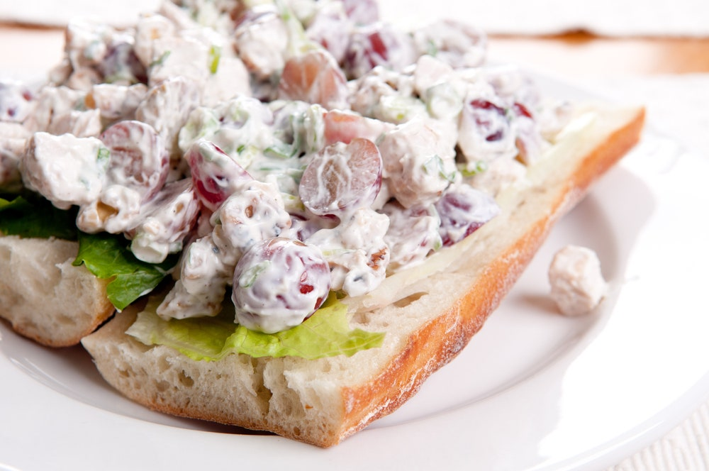 Chicken Salad with Grapes and Walnuts