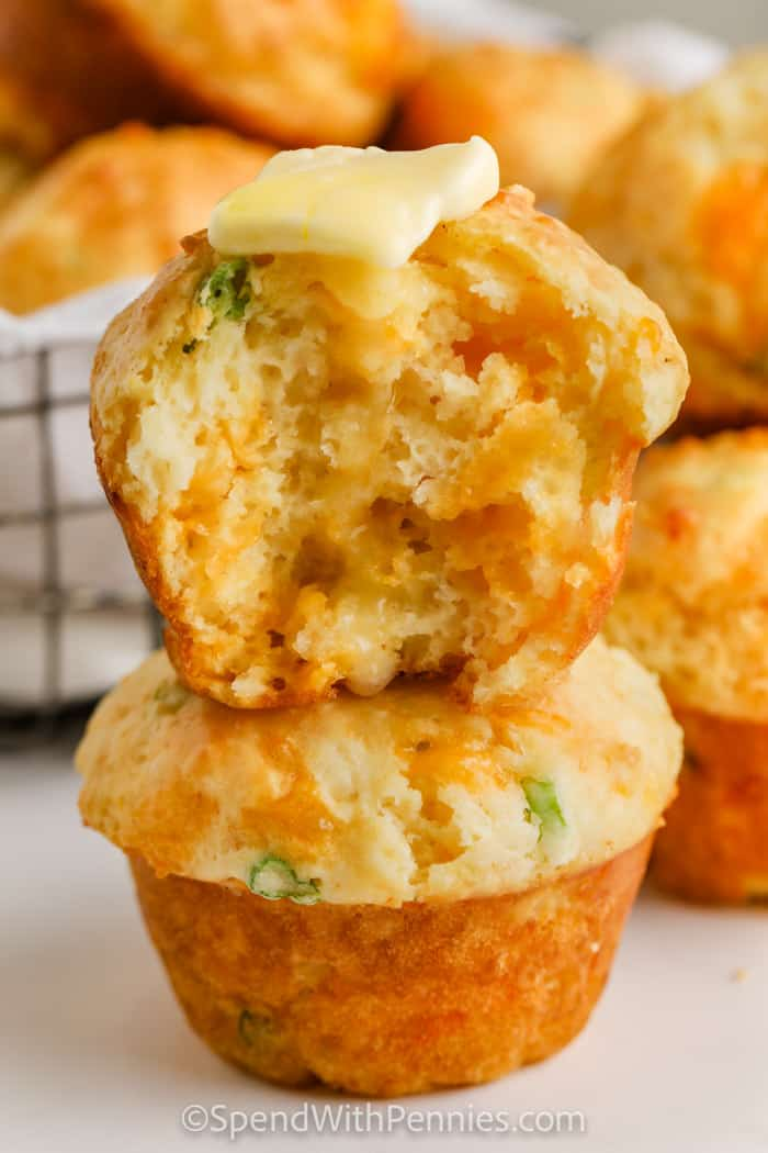 Cheese Muffins (Quick Bread)